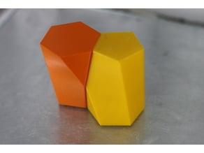 New Geometric Shape - Scutoid - by 3Dörtgen