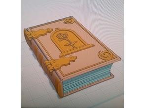 Belle Book Dice Box