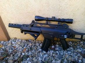 G36C airsoft silencer