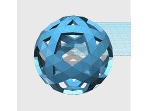 Geodesic 5V Sphere Pattern004