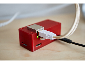 Pi Zero Ethernet Hat Case