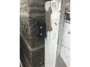 Home DIY - Magnetic Gate Lock