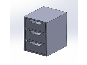 3-Stack Storage Drawer