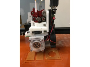 Flexion Extruder adapter for Xinkebot Orca2 Cygnus