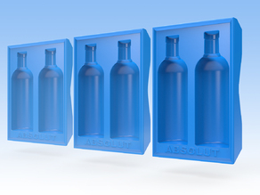 Absolut Vodka Ice Cube Tray