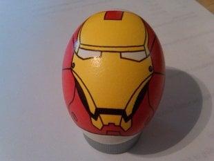 Eggbot - Iron Man Mk 3