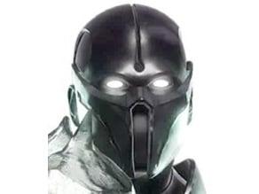 Noob Saibot Mk11 Mortal Combat Helmet & Armour