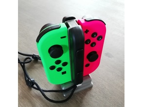 Nintendo Switch - Joy-con and straps stand