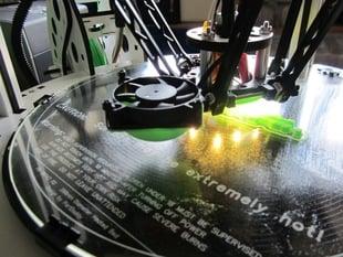 Fan scoop for Rostock Max printer