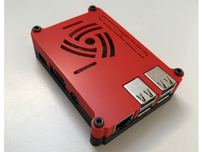 Raspberry Pi 3 Case without Vesa mounts