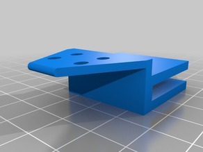 Ultimaker 2 Go heated bed cable holder