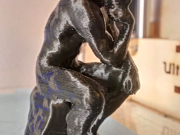 Voorkeur Rodin's The Thinker by lampmaker - Thingiverse @DG89