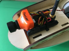 FPV Camera/Vtx Cradle (HS1177, RunCam Camera)