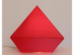 51° pyramid for Schuman resonator
