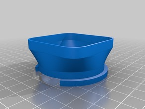 Rollei bay III hood for Rolleiflex 2.8F/2.8GX/2.8FX
