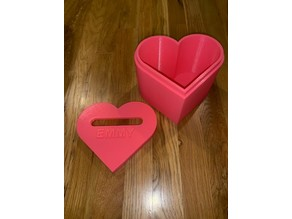 Heart Shaped Valentine's Box