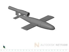 V1 rocket scale 1-16