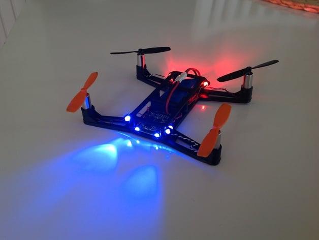 Hubsan X4 H107, Race drone body