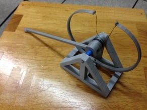 da Vinci Style Catapult