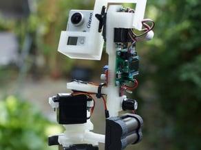 GoPro panorama robot