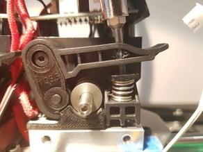 Rigidbot extruder spring tensioner