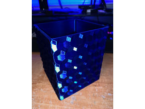 Hypercube Symbol Pen Holder