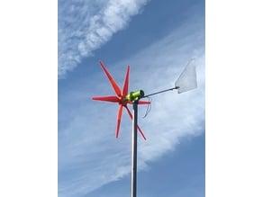 éolienne a multiplicateur epicycloidale