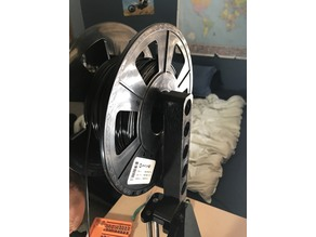 Prusa i3 Filament Spool Holder (no support / low filament )