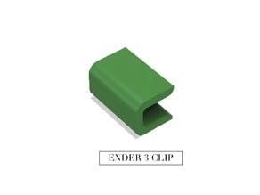 Ender 3 Bed  glass clip PETG