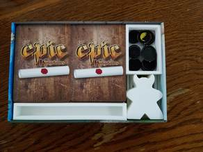 Tiny Epic Kingdoms & Expansion Game Box Organizer Short