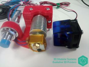 Scalar - E3D Hot end Support for Scalar family 3D Printers