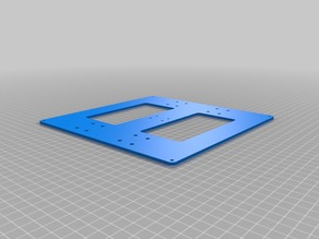Anet A6 Reinforced Ground Plate of Hot Bed