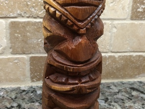 Hawaiian Tiki Statue