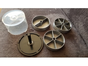 CD/DVD Cake Spindle Organizer