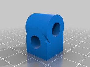 "6mm, 1/4"" 2-Axis Block"