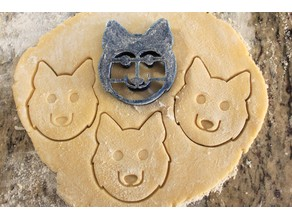 Husky Cookie Cutter