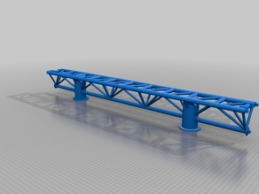 Rollercoaster Intamin Taron straight track