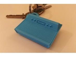 Realistic Atari 2600 Keychain