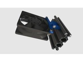 V-slot fan holder (60,80mm)