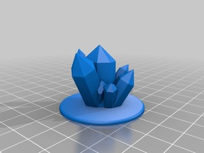 Giant Crystal Objective Marker for Epic 40K (6mm scale)