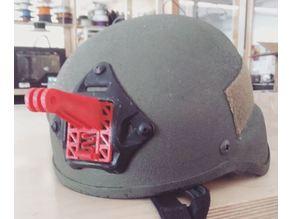 Action camera helmet mount (ops-core mount)