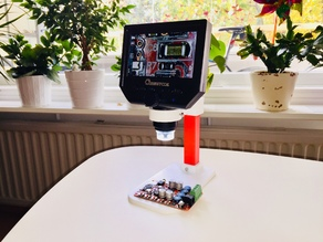 Simple Electric Microscope Stand