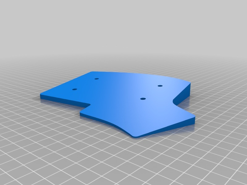 Iris Keyboard Case (v2) by holtenc - Thingiverse