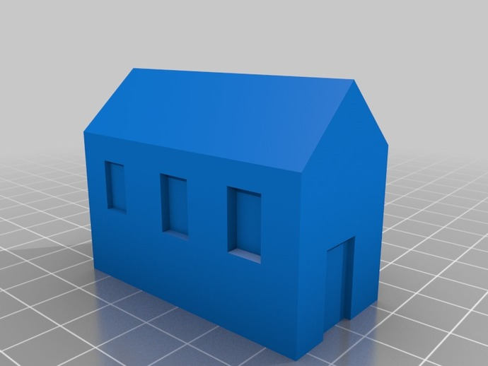 Miniature Monopoly House by gberms - Thingiverse