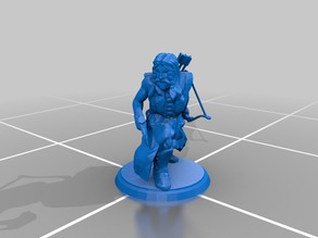Dungeons and Dragons Miniature#3