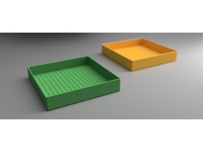 Grooved Tray