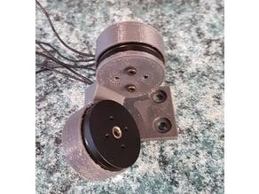 Two-axis Camera Gimbal using 2204 motors