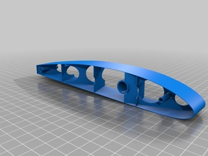 Clark-y wing test section     (similar to 3dlabprint)