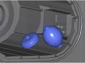 DeAgostini Millennium Falcon Bunk Accessories