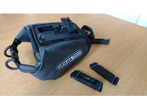 Ortlieb saddlebag adapter for Brooks Cambium saddle